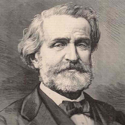 Celebrate the 200th anniversary of the romantic Italian composer Giuseppe (Fortunino Francesco) Verdi's birth (10 October 1813 - 27 January 1901, on October 10th, 2013.