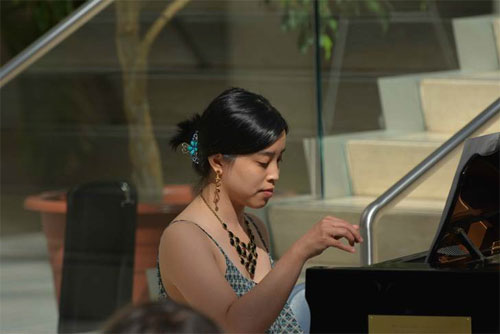 Stephanie Kwan - Verdi and Spoken Word at the Edmonton City Hall